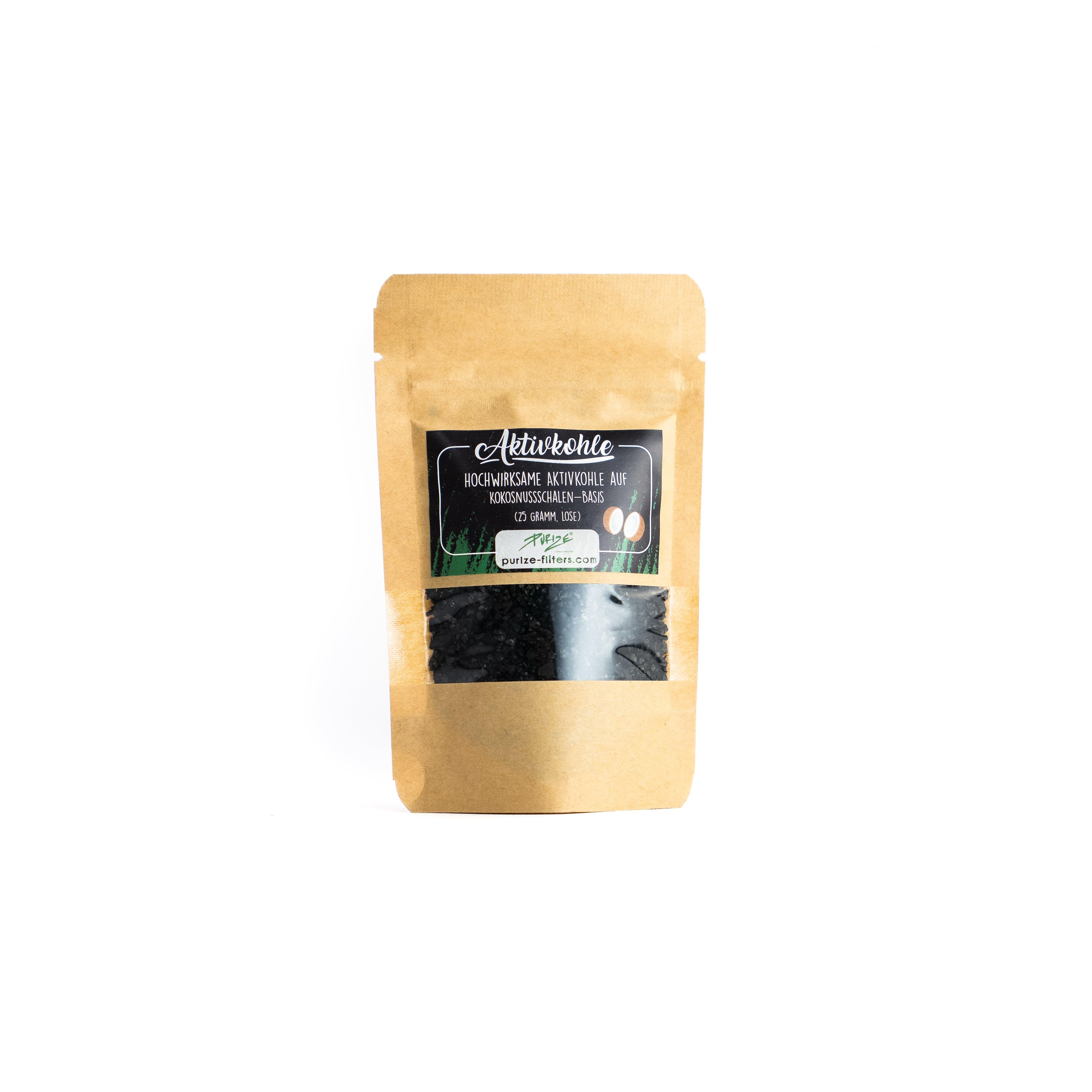 PURIZE® Aktivkohle – Coconut 25 gr.