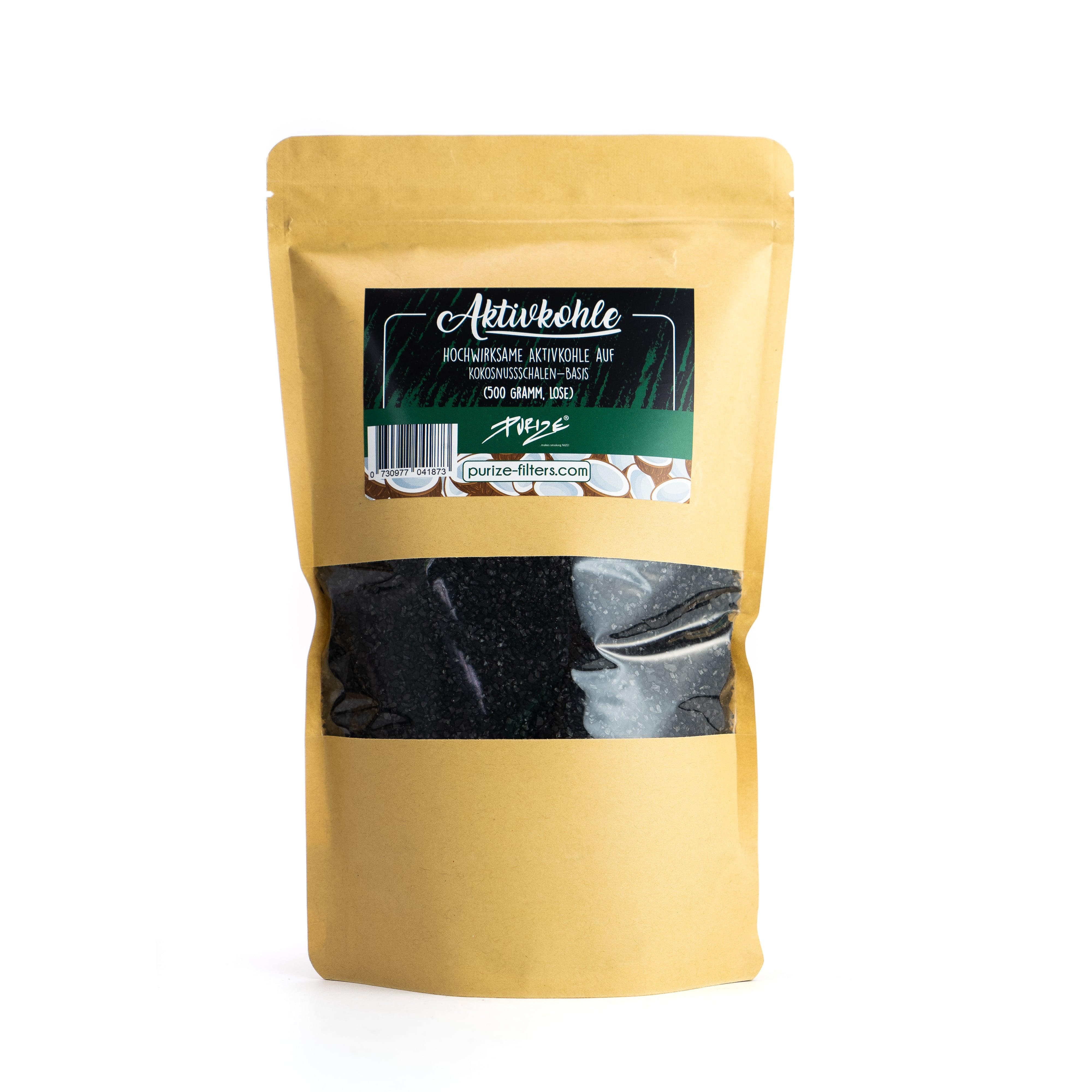 PURIZE® Aktivkohle – Coconut 500 gr.