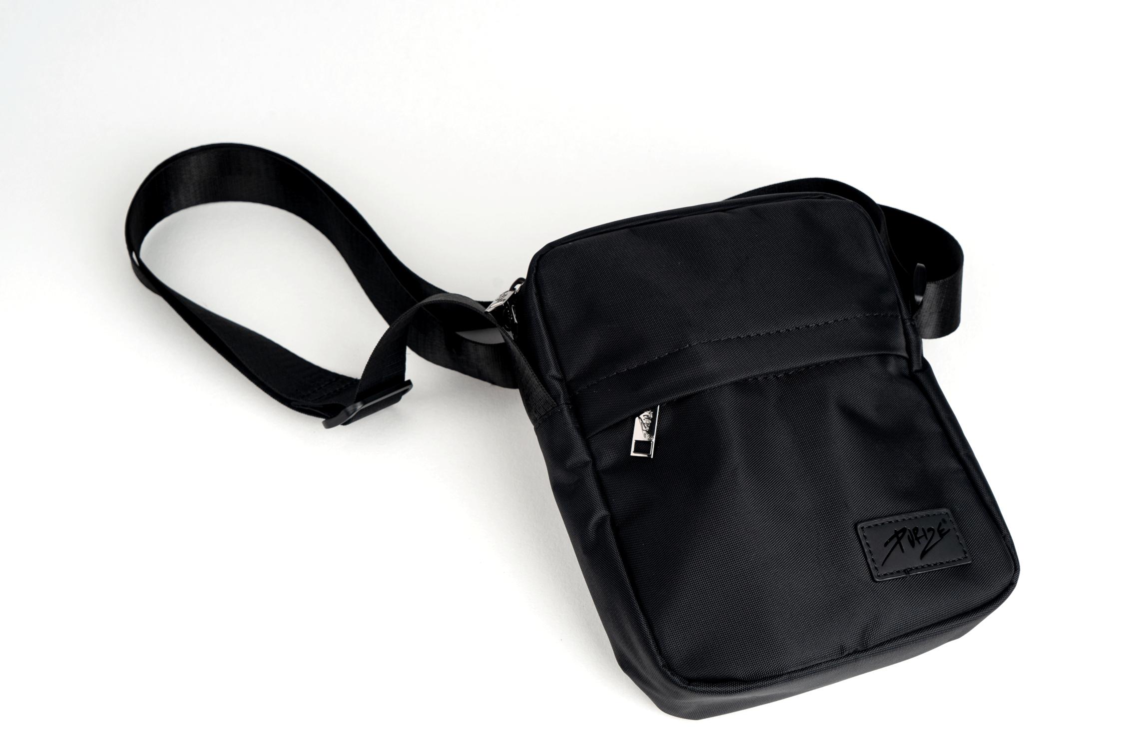 PURIZE® Aktivkohle-Umhängetasche (Shoulder Bag)