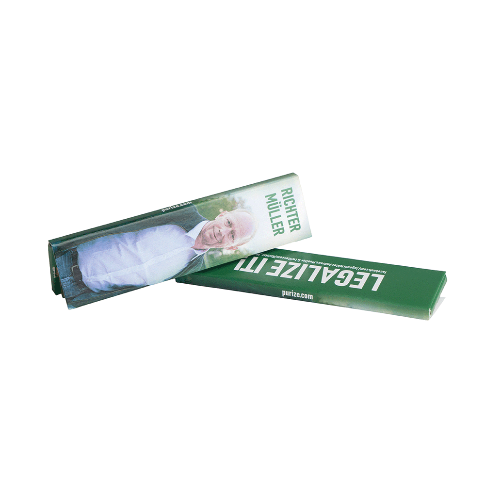 PURIZE® x Richter Müller King Size Slim Papers
