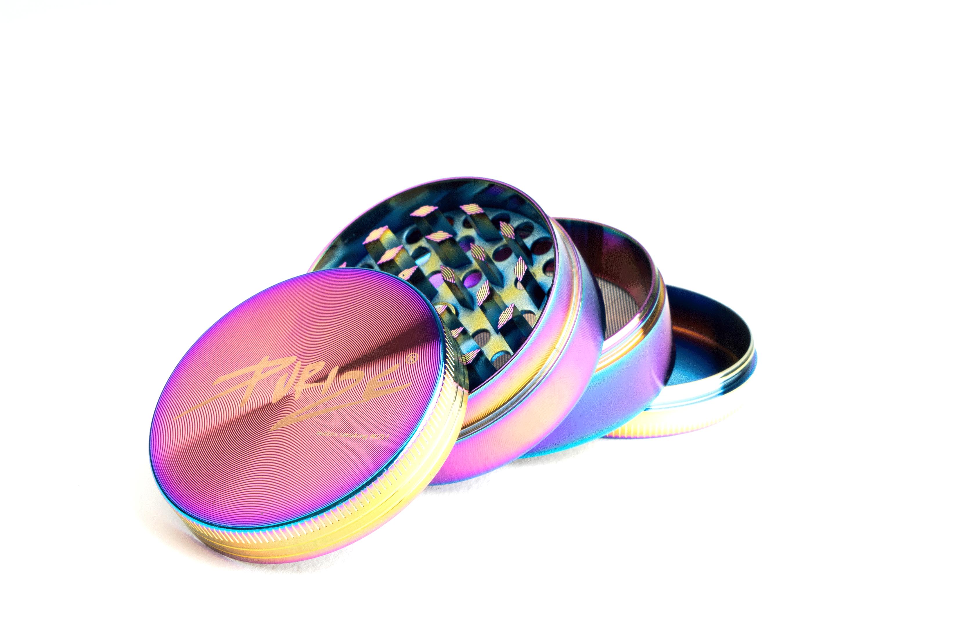 PURIZE® Rainbow Grinder I 4-teilig