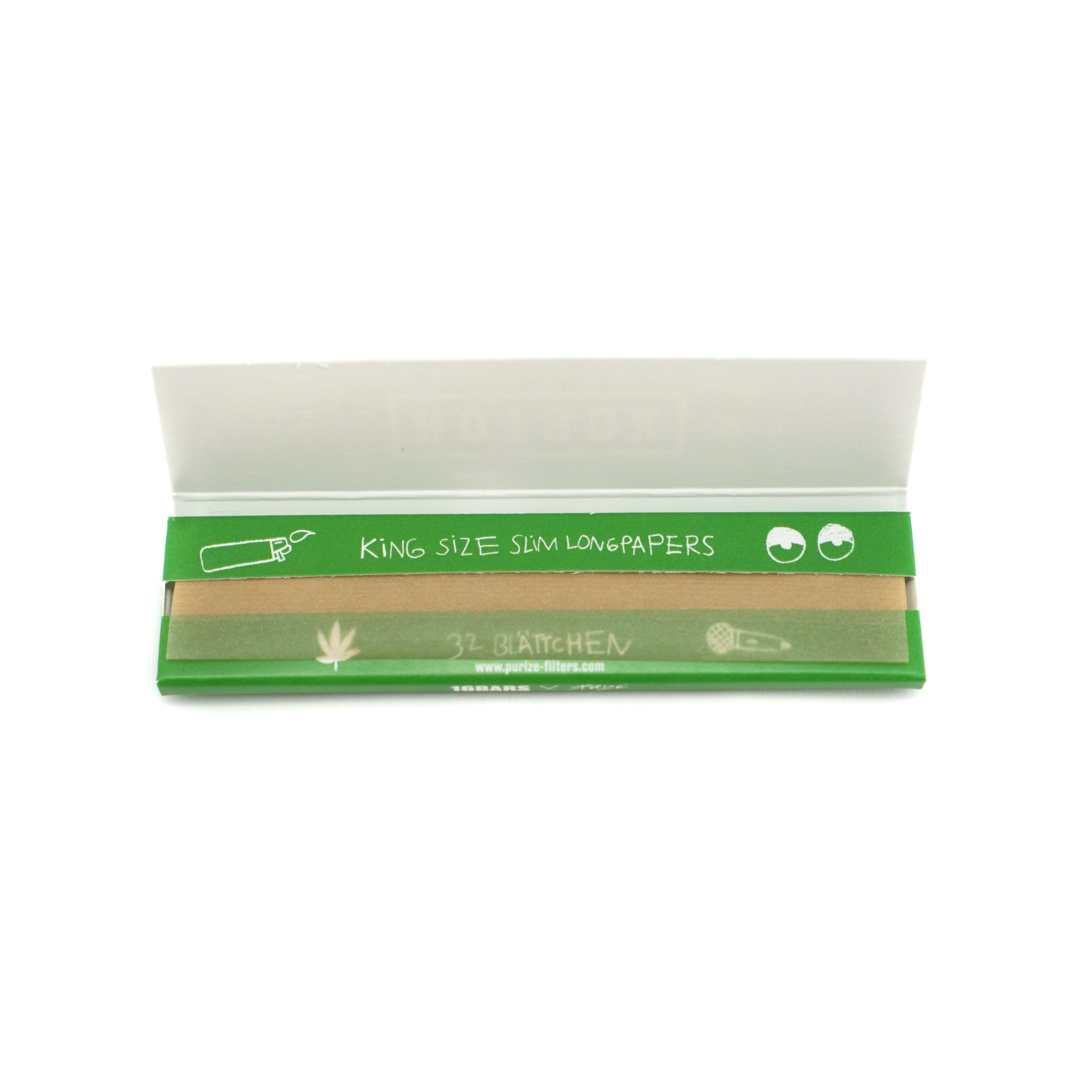 PURIZE® x HOTBOX King Size Slim Papers