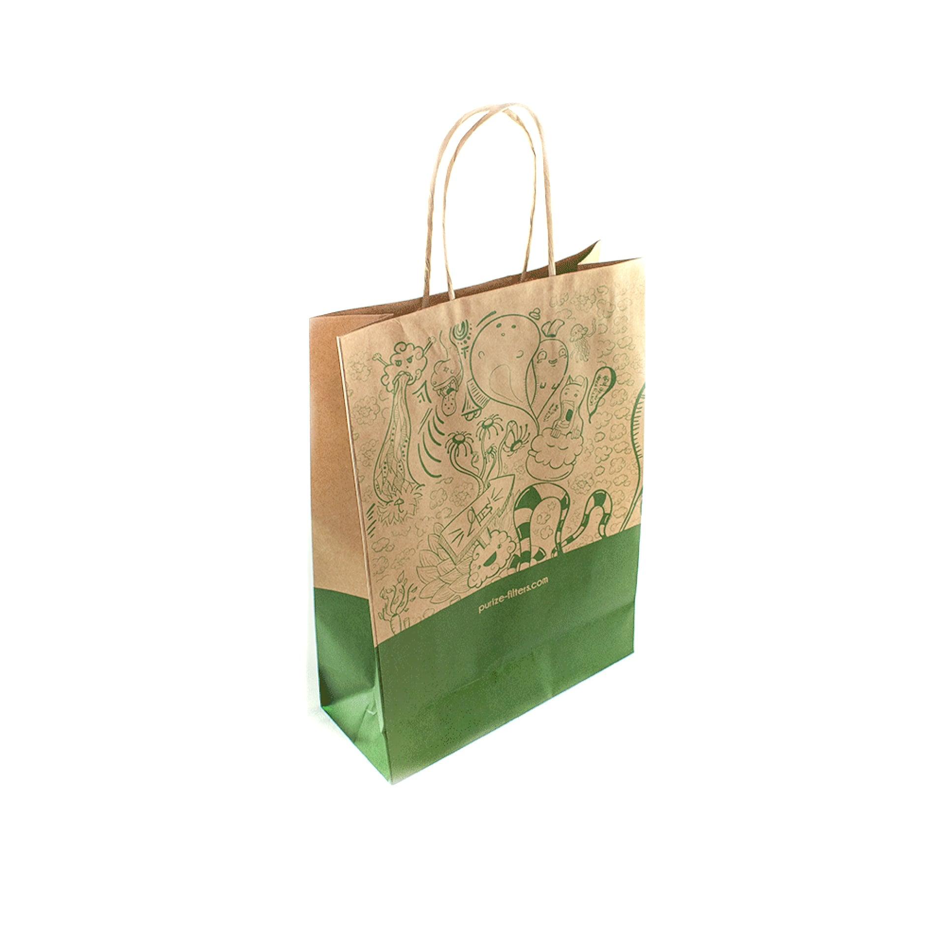 5x PURIZE® Organic-Tragetaschen