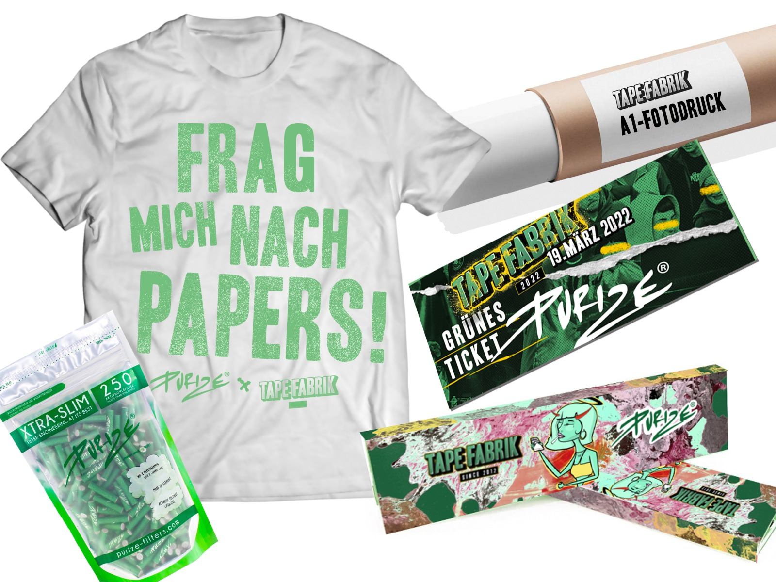 PURIZE® x TAPEFABRIK BUNDLE (inkl. Festival-Ticket)