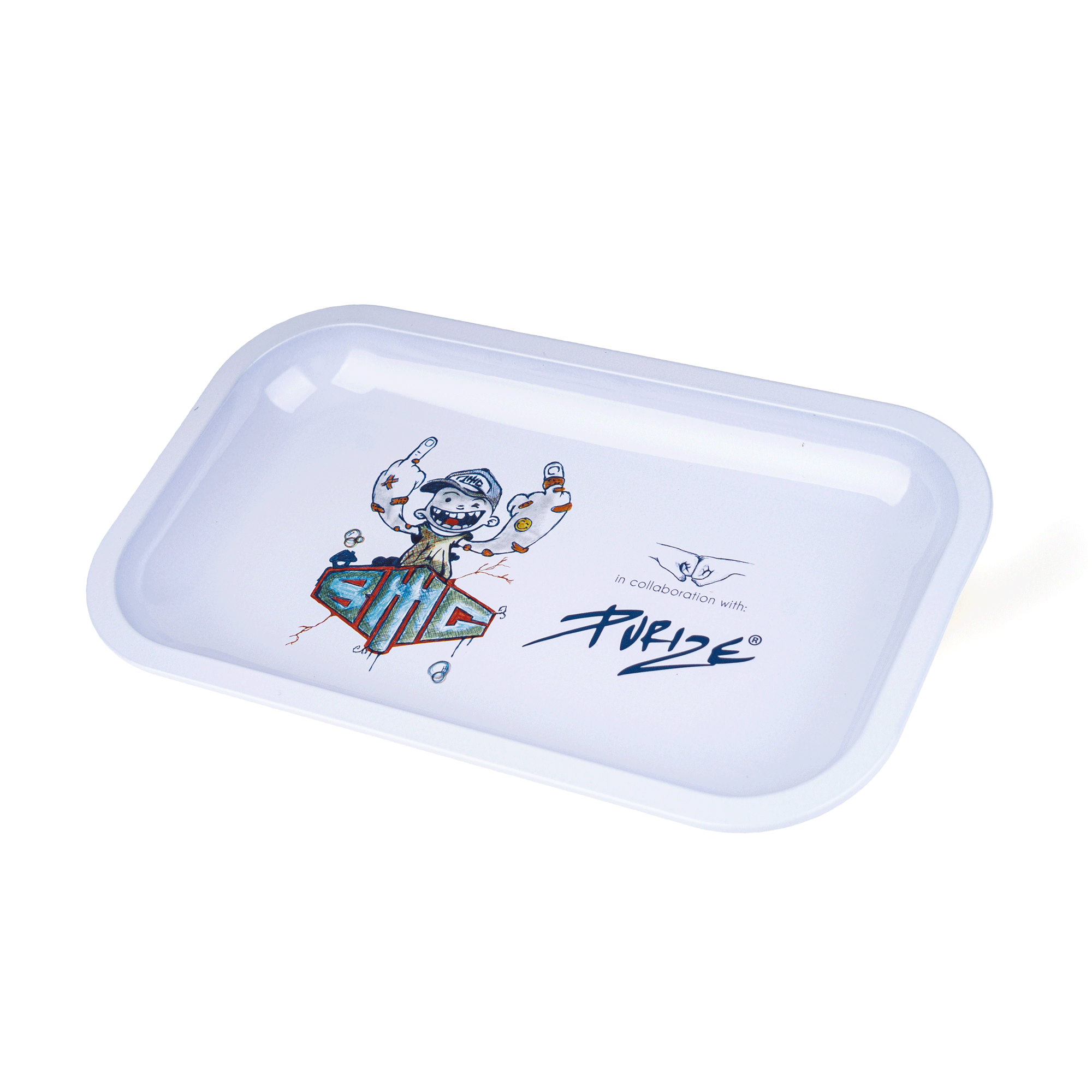 PURIZE® x BMG Metal Tray I Limited Special Edition